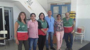 Personal del SAME visitó Comodoro Rivadavia y capacitó a personal que trabaja en el 107.