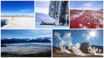 top 5: paisajes  increibles  de chile