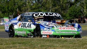 Gastón Mazzacane se quedó ayer con el mejor tiempo en el autódromo de La Plata.