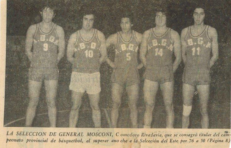 Con la número 14 de la Selección de General Mosconi