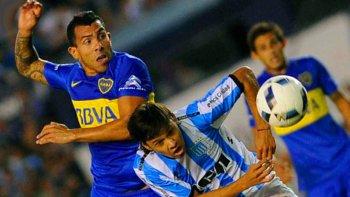 Carlos Tevez y Oscar Romero serán esta tarde protagonistas de un nuevo clásico entre Boca y Racing.