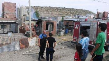 se incendio una casa en la extension del san cayetano