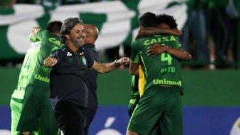 chapecoense sera declarado campeon de la copa sudamericana