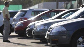 Merman las transferencias de autos usados en todo el país.