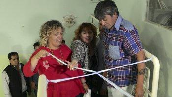 Un sueño cumplido. La vecinal del barrio Abel Amaya inauguró su propia Biblioteca.