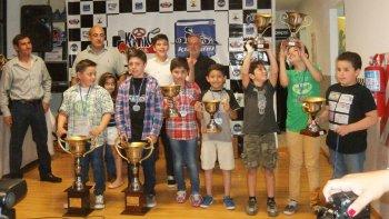 La categoría Stihl tuvo como campeón a Danilo Pachmann, pero todos se llevaron sus trofeos.