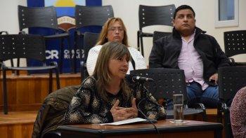 Rosana Uriarte: la ciudad está cada vez más sucia.