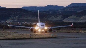 hay cinco aerolineas interesadas en operar en chubut