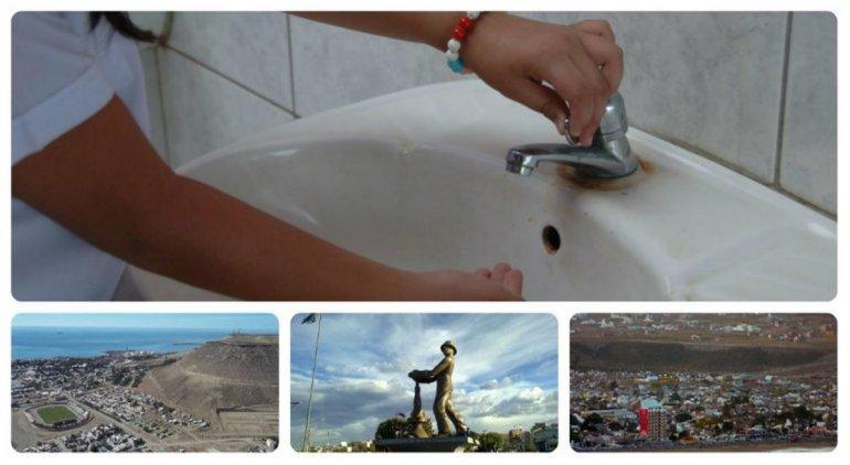Siguen los cortes de agua: ahora afectará a Comodoro, Rada Tilly y Caleta Olivia