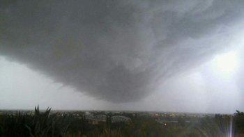 no salgan de sus casas, panico por un audio de whatsapp que anunciaba un tornado