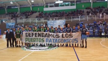 gimnasia e hispano se sumaron al reclamo por los puertos patagonicos