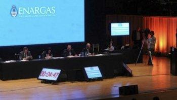 La audiencia de revisión tarifaria integral se realizó en la sede de la Universidad Católica Argentina.
