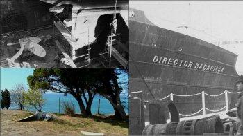 desaparecio la historica helice del buque director madariaga