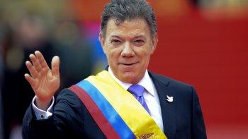 para santos el nobel fue un regalo del  cielo en el proceso de paz de colombia