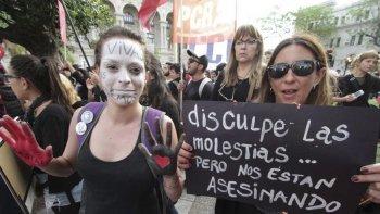 Durante todo el año hubo marchas pidiendo por la emergencia en materia de violencia de género.