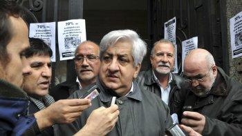 A pesar de su apoyo a la iniciativa, Piumato se manifestó en contra de que los nuevos jueces paguen el impuesto.