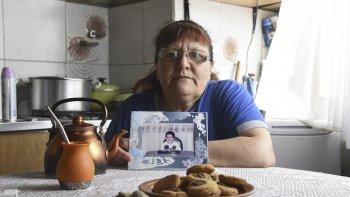 María Crea exige que se haga justicia a un año de la muerte de su hijo.