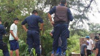 un hombre y una joven murieron al rescatar a una nena en un represa