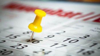 asi quedo el calendario tras la eliminacion de los feriados puente