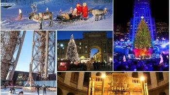 top 5: los mejores lugares para pasar navidad