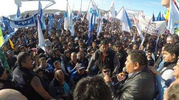 El martes los petroleros pretenden repetir la histórica movilización de mayo último.