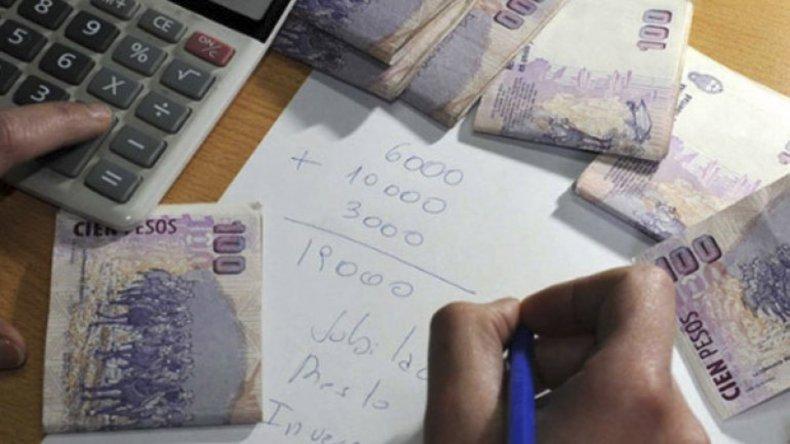 A fines de noviembre el total de depósitos a plazos fijos en moneda nacional era de unos $ 607.500 millones.