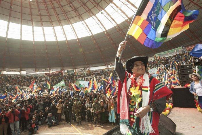 Evo Morales busca su tercera reelección consecutiva como presidente de Bolivia.