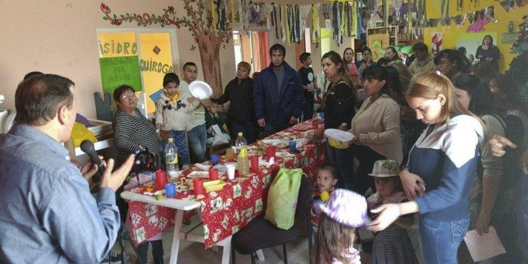 Los jardines maternales cerraron el año con la presencia de las familias y del secretario de Desarrollo Humano
