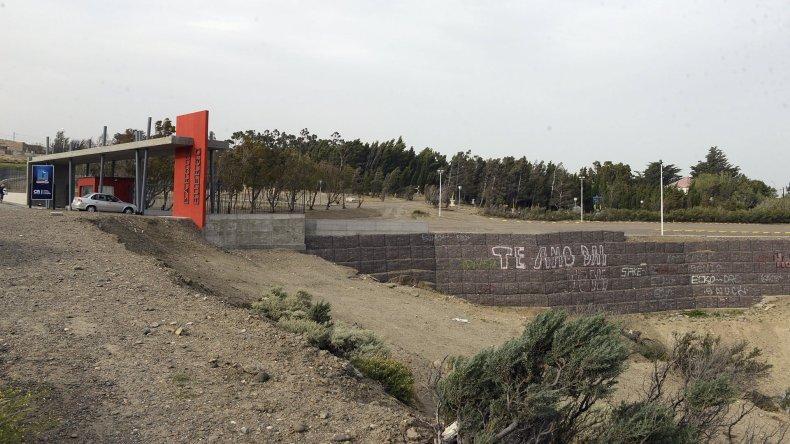 El nuevo portal de acceso que ofrece el Chalet Huergo.