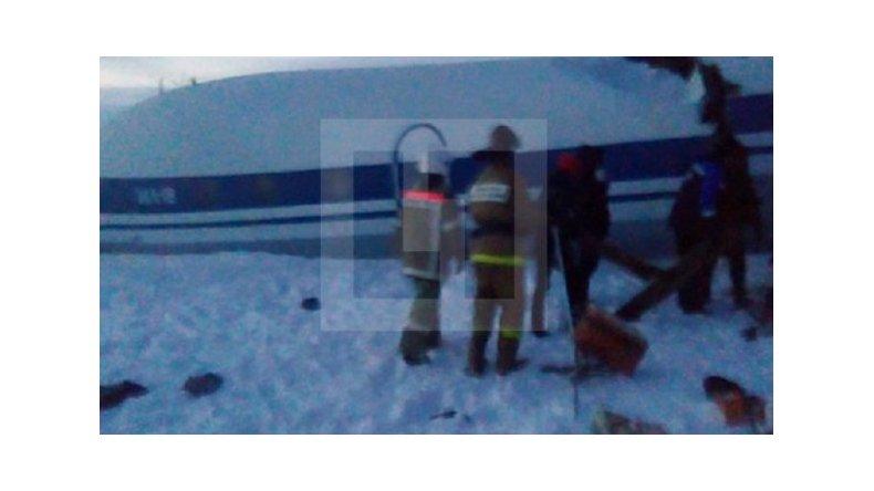 Un avión se partió en tres y sobrevivieron todos los pasajeros