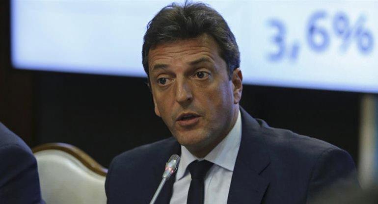 Massa se mostró optimista en torno al acuerdo entre la CGT y el Gobierno.