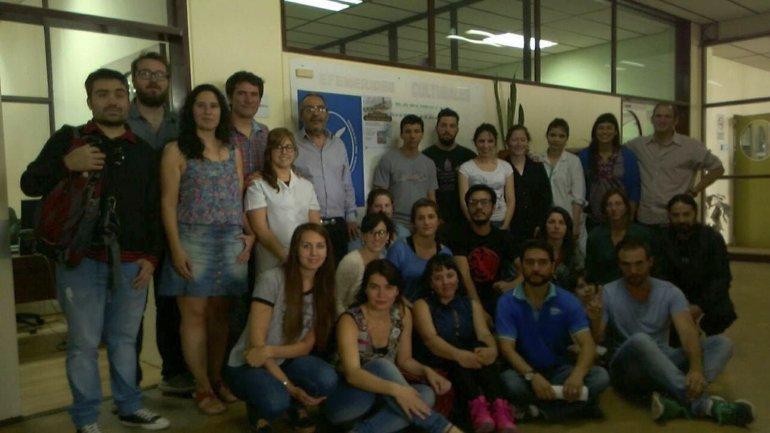 Los investigadores del Conicet que trabajan en la Universidad San Juan Bosco elaboraron ayer un documento de repudio a las medidas de ajuste del gobierno de Macri.