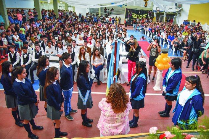 La comunidad del Colegio 737 Soldado Mario Almonacid cerró el año académico