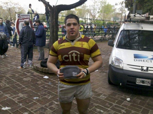 Francisco Ferronato está ternado en rugby junto Nicolás Sánchez y Facundo Isa.