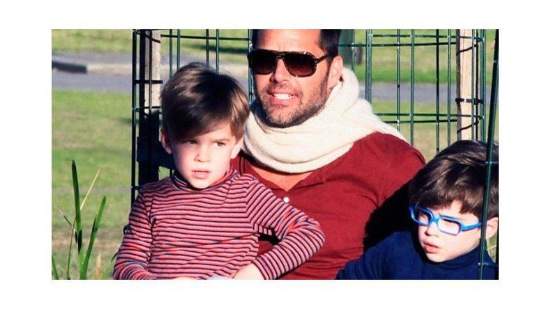 La tierna carta del hijo de Ricky Martin, orgulloso de su papá: Eres el mejor