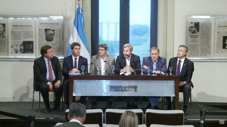 Gobernadores avalaron la reforma en Ganancias y esperan que la apruebe el Congreso
