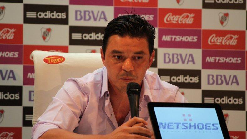 Gallardo confirmó que seguirá un año más en River: es lo que me dice el corazón