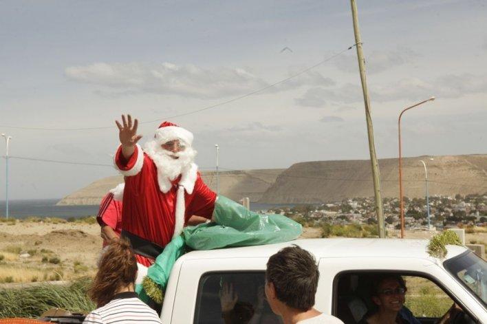 Papá Noel visitará Rada Tilly el sábado