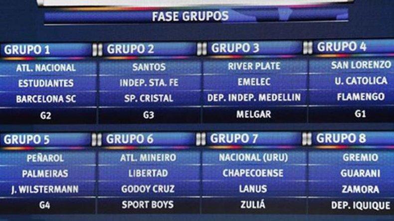 Se sorteó la Copa Libertadores 2017