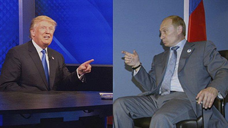 Trump y Putin realizaron declaraciones sobre el armamento nuclear.