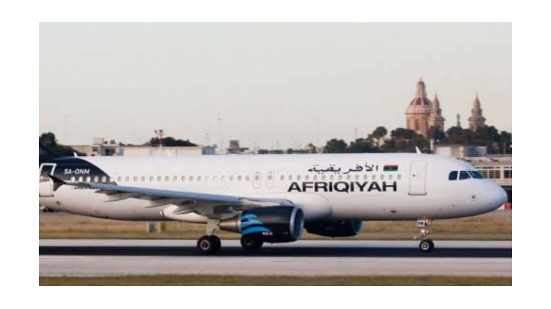 Secuestraron un avión con 118 pasajeros a bordo en Malta