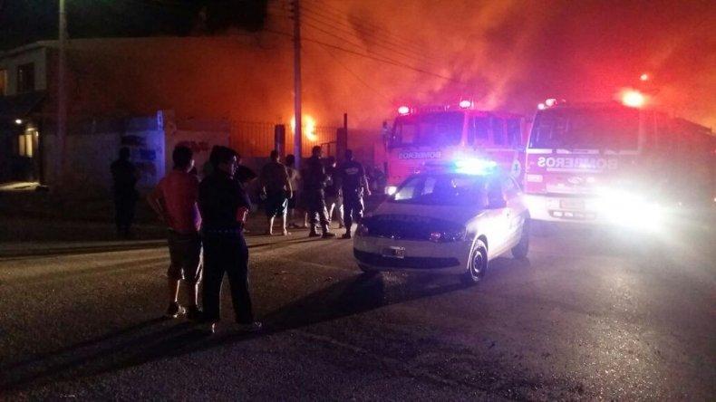 Se incendió una casa en el barrio Abásolo