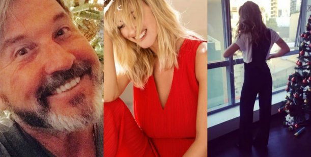 Navidad: los famosos la palpitan en las redes