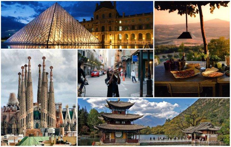 Top 5: Destinos  turisticos mas populares  del mundo