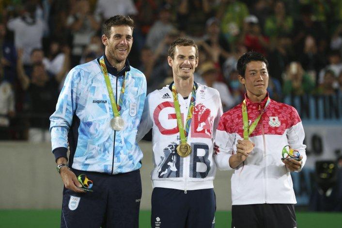 Juan Martín Del Potro obtuvo una más que loable medalla de plata tras perder una épica final ante Andy Murray.