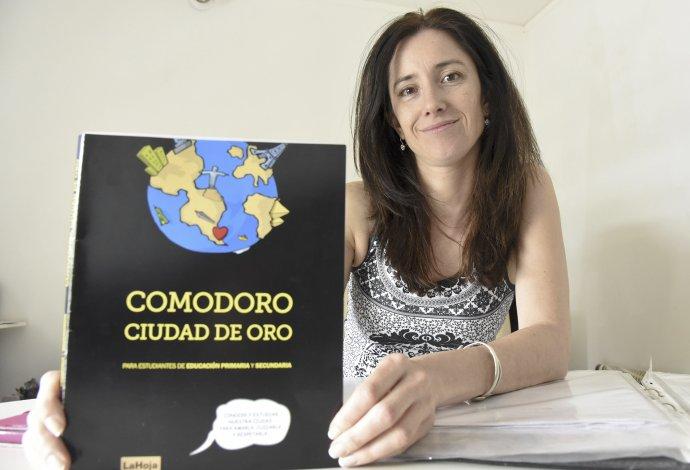 La diseñador Paula Trucco contó a El Patagónico de qué se trata Comodoro