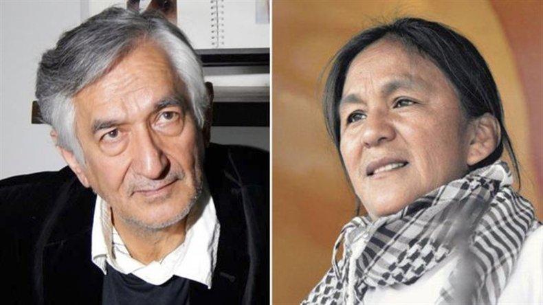 Rodríguez Saá visitó a la dirigente de la agrupación Tupac Amaru que está detenida desde enero.