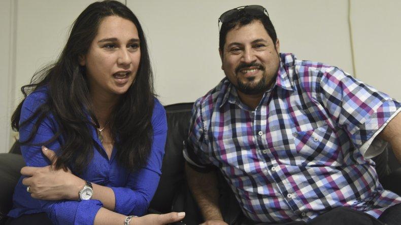 Los docentes Natalia Burgos Astudillo y Ramón Hernández fueron becados para especializarse en Estados Unidos por la Fundación Fulbright y el Ministerio de Educación y Deportes de la Nación.