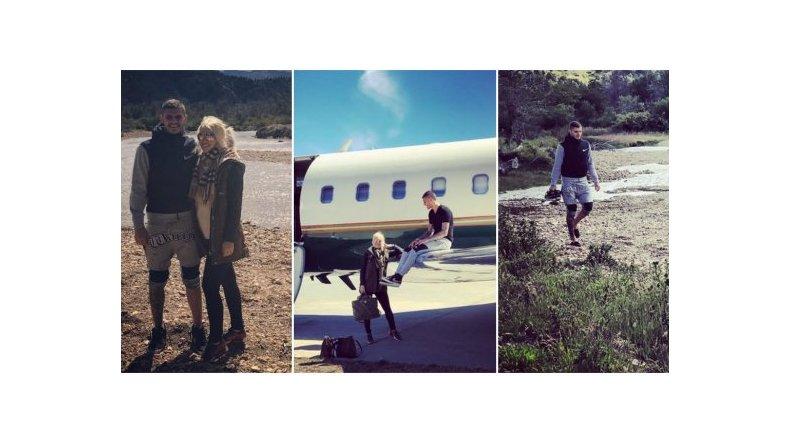 Wanda Nara, en la Patagonia: avión privado, caminatas y noche buena con Zaira