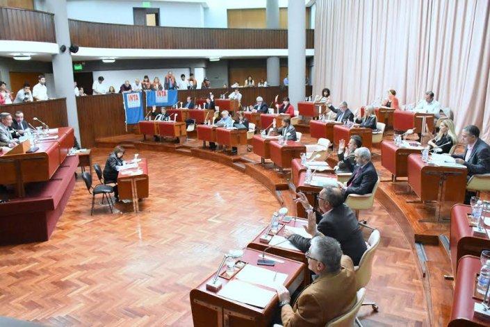 El bloque del FpV fue el que más proyectos presentó en la Legislatura